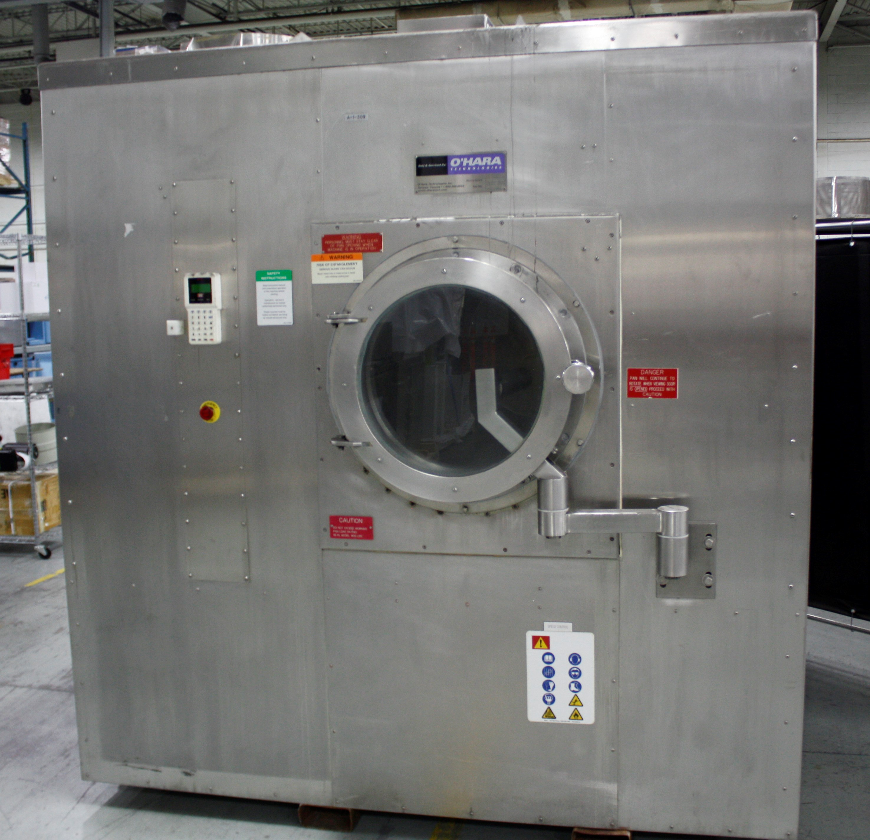 "Used Caoting System- 66"" Pan"